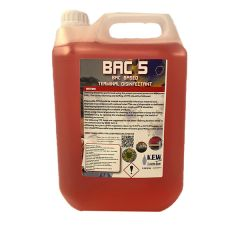 BAC 5 Surface sanitiser 5ltr